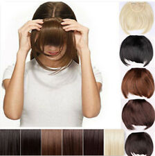 Clip In Front Hair Bang Fringe Hair Extension Straight women lady one HS