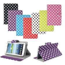 7 inch Universal Polka Dot Leather Stand Case Cover For Android Tablet PC So Coo