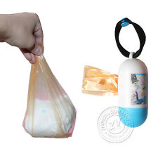 Garbage Bags Portable Baby Diapers Disposable Bag Environmental Protection