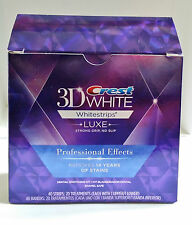 Crest3D White Luxe Professional Effects Whitestrips Teeth Whitening 5/10/20