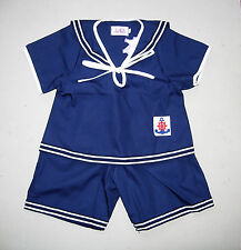 BABY / BOY's SAILOR OUTFIT, Navy Blue, Wedding, Christening, Ages 0-6 Years Old
