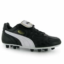 Puma Kids Boys King Top DI FG Lace Up Football Boots Junior Shoes Moulded Studs