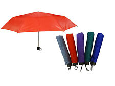 Supermini Telescopic Lightweight Compact Umbrella with Strap and Cover