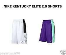 NEW MEN'S NIKE ELITE 2.0 BASKETBALL SHORTS 100% AUTHENTIC KENTUCKY ELITE