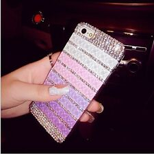 Luxury Bling Jelly Color Diamond Crystal Case Cover For iPhone 6 Plus 5s 4s 5c