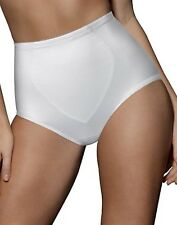 6 Pack Bali Smoothers Firm Control Briefs - Style X710 - Featuring White