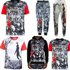 2015 men/women's joggers tee 3D print Jordan basketball star tops pants outfits