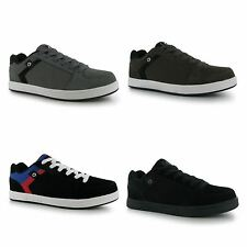 Airwalk Mens Brock Skate Shoes Lace Up Suede Accents Sport Casual Trainers