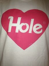 HOLE COURTNEY LOVE BAND T-SHIRT  NEW  ALL SIZES!  PUNK ROCK nirvana  kurt cobain