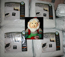 New BIDDEFORD HEATED QuIlTed MATTRESS PAD KING/QUEEN/FULL/TWIN SIZEs
