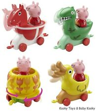 Peppa Pig Theme Park Ride, HORSE - DUCK - TEA CUP - DINOSAUR - 1 Supplied NEW
