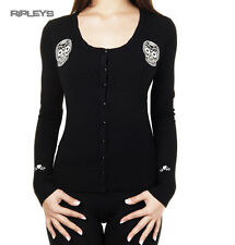 BANNED Sugar Skull Black BLACK MAGIC Cardigan Top Shrug All Sizes