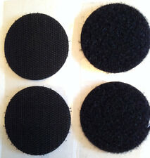Giant 45mm Self adhesive Fastener coins,disc,Hook or Loop