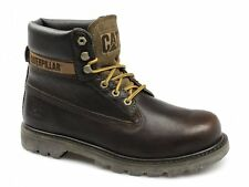 Caterpillar CAT COLORADO Mens Leather Lace-Up Soft Work Ankle Boots Ginger Brown
