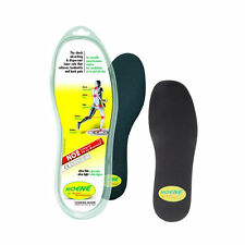 Noene 2mm Shock Absorbing Insoles - Ultra Thin, Support, Flexible, Cushion