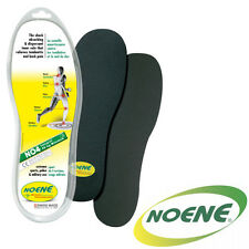 Noene 4mm Shock Absorbing Insoles - Ultra Thin, Support, Flexible, Cushion