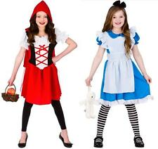 STORYBOOK FAIRYTALE GIRLS FANCY DRESS LITTLE RED RIDING HOOD ALICE OUTFIT 5/13