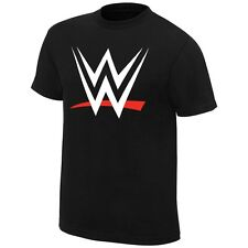 WWE 2015 New Logo World Wrestling Entertainment Mens Black T-shirt