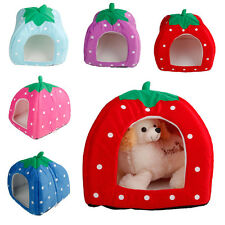 New 15 Style Pet Dog Cat Bed Strawberry Kennel Doggy Warm Cushion Basket