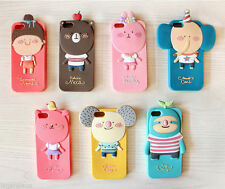 Momo's Blog iPhone 5 Phone Mobile Soft Case Cover Holder Pouch Cute Animal Skin