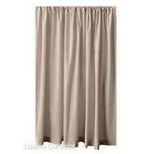 Beige 12ft H Long Velvet Curtain Ready Made Stage Background Display Panel Drape