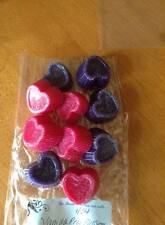 Wax tarts over 350 scents to choose Heart shapes 2 ounces ..10 hearts total
