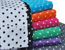 Luxe Collection Polka Dot 600 Thread Count Cotton Rich Sheet Set