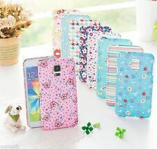 Galaxy S5 V Pattern Hard Phone Mobile Case Cover Pouch Skin Flower Cute Holder