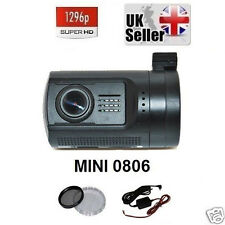 Mini 0806 A7 1296P GPS G-Sensor Ambarella Car Security Cam Dash Camera