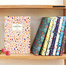 Bon Bon Diary Planner Scheduler Journal Agenda Scrapbook Organizer Cute Pattern