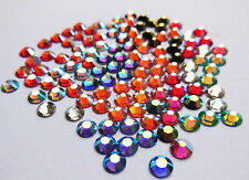 72 SWAROVSKI Hotfix Crystals SS20 or 5mm - AB & SPECIAL COLOURS - GREAT PRICE