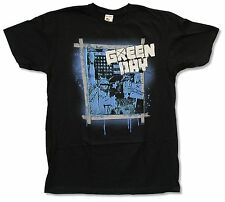 "GREEN DAY ""LIBERTY"" BLK SLIM T-SHIRT NEW OFFICIAL ADULT 21ST CENTURY BREAKDOWN"