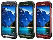 AT&T  Unlocked  Samsung Galaxy S5 Active G870A 16GB latest model Red/Gray/Green