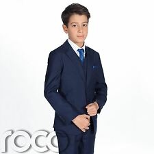 Boys French Blue Page Boy Suit, Prom Suits, Suits for Boys, Christening Suits