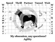 Australian Cattle Dog Agility Course - My Obsession, Any Questions? Sweatshirt