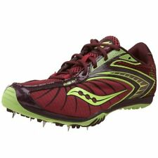 Women's Saucony Shay XC2 Cross Country Spikes - Red/Citron - NIB!