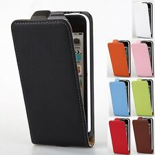 Luxury Genuine Leather Flip Magnetic Case Full Cover Pouch For Apple iPhone 5C