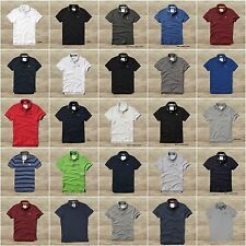 ABERCROMBIE & FITCH MEN`S POLO SHIRT BRADLEY POND LATHAM POND NEW S,M,L,XL,XXL