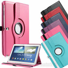 For Samsung Galaxy Note 10.1 inch SM-P600 2014 Edition Leather Case Smart Cover