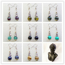 Wholesale!Beautiful Mixed Gemstone Earrings 1Pair or 9Pair XLZ-276