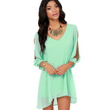 New Sexy Women Ladies Summer Casual Party Evening Short Mini Dress Excellent