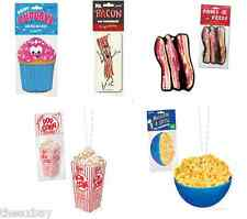 CUPCAKE, BACON, MAPLE BACON, POPCORN & MAC N CHEESE Car Air Freshener GAG GIFT