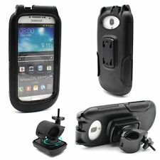 IPX8 Waterproof Tough Case Motorcycle Bike Mount for Samsung Galaxy S3 S4