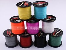 8Strands 300M 328 YARDS Colors 100% PE Dyneema Spectra Strong Braid Fishing Line
