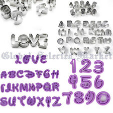 Numbers Letters Funky Cartoon Font Cake Decorating Icing Fondant Cookie Cutters