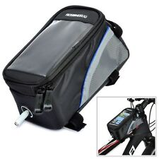 CYCLING BIKE BICYCLE FRAME iPHONE HOLDER PANNIER MOBILE PHONE TOOL BAG POUCH