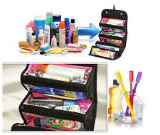 Portable Travel Multifunction Cosmetic Bag Makeup Case Pouch Toiletry Organizer