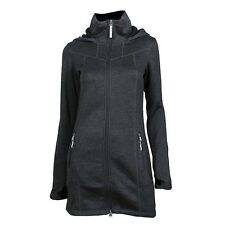 BENCH Bradiestar B Damen Strickjacke Sweat Hoodie FLEECE Innenfutter schwarz