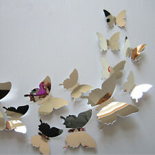 12pcs New 3D Butterfly Wall Sticker / Party / Wedding Decor/ DIY Home Decoration