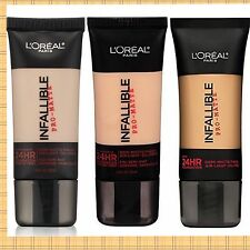 Loreal Infallible Pro-Matte Upto 24Hr Demi-Matte Finish Liquid Foundation CHOOSE